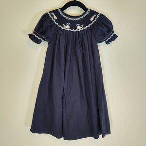 Sweet Angela Rosalina 2T Dress Smocked Whale Beach